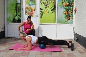 planken fitness oefening