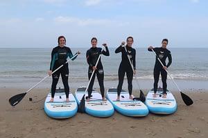 Stand up paddling (suppen) in de Koudekerke 2