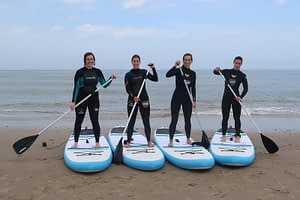 Stand up paddling (suppen) in de Koudekerke 2