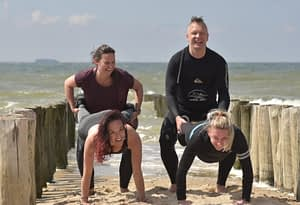 watersport outdoor groepsles