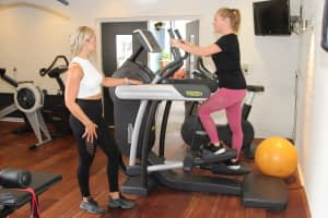 cross trainer/ stepper fitness