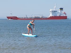 Stand up paddling (suppen) in de Koudekerke 3