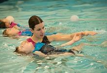 Zwemles op maat met veel aandacht