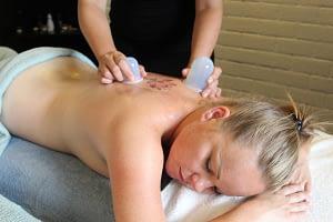 Cupping massage therapie bindweefsel