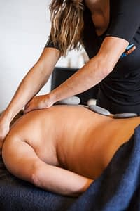 Hotstone massage 1
