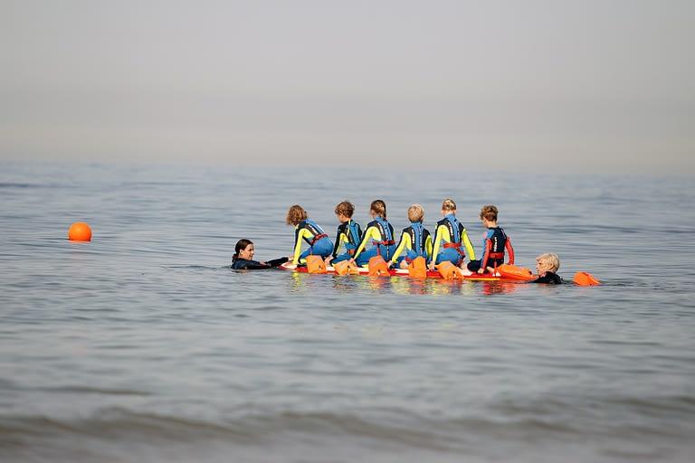 Zwemles in zee cursus Zeeuwse zomer vakantie