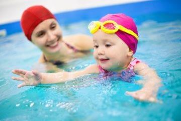 junior zwemmen, ouder en kind zwemmen, baby zwemmen