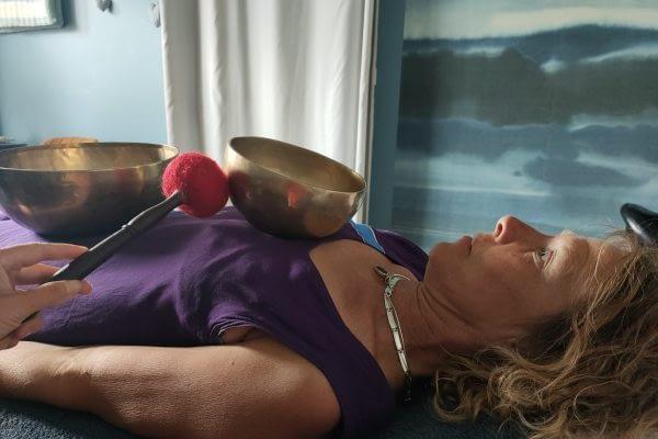 massage sound healing