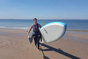 Stand up paddling (suppen) in de Koudekerke 1