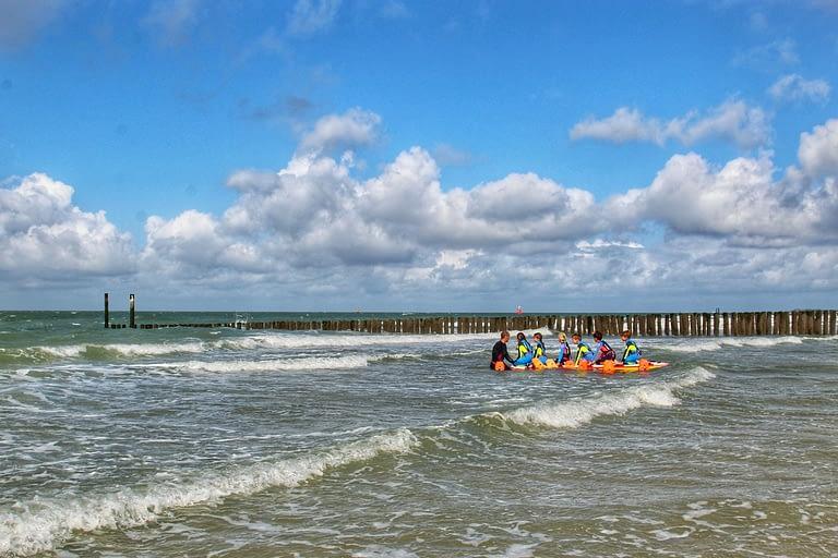 C in Zee, zwemdiploma zeezwemmen
