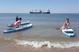 Stand up paddling (suppen) in de Koudekerke 11