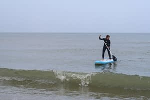 Stand up paddling (suppen) in de Koudekerke 10