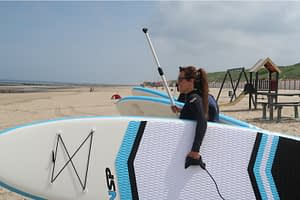 Stand up paddling (suppen) in de Koudekerke 9