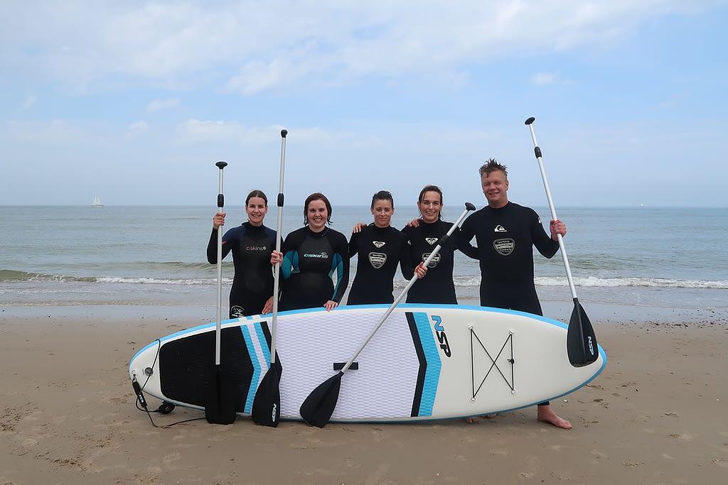 Stand up paddling (suppen) in de Koudekerke 7
