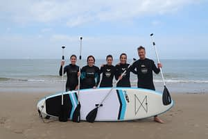 Stand up paddling (suppen) in de Koudekerke 7
