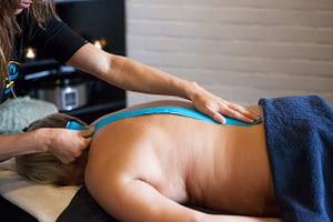 Genieten en ontspannen van een massage 1