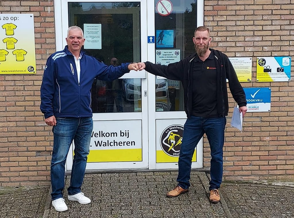 Elektromakers sponsort SV Walcheren