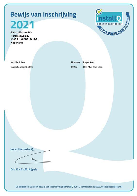IBER erkenning 2021