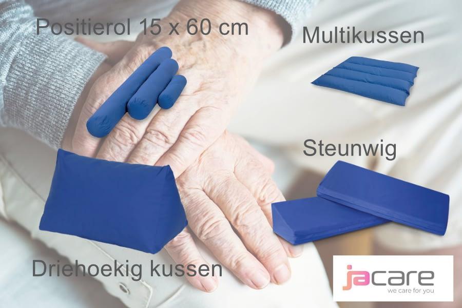 Positionering sacrum,knieën en hielen 5