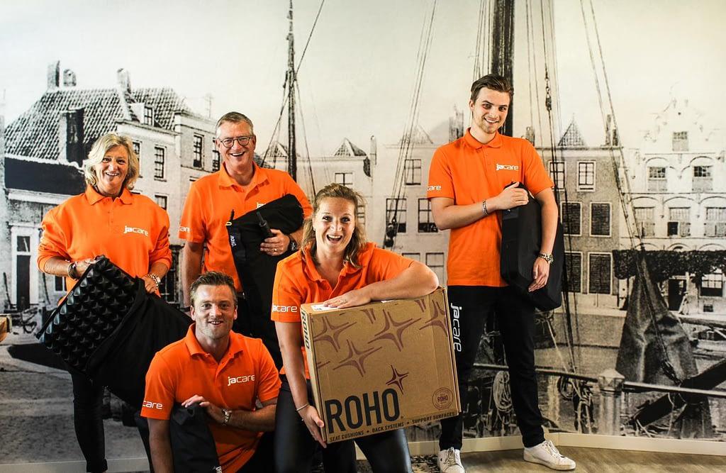 Groot nieuws || Jacare & Permobil partnership met het ROHO zitprogramma 1