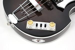Hofner Beatles bass (violin bass) black