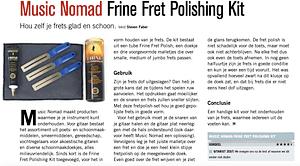 Music Nomad Frine Fret polishing kit