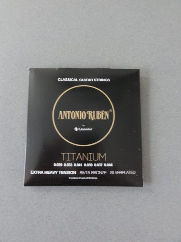Ruben Classical Strings Extra Heavy Tension,Silverplated 65/35 Bronze 5
