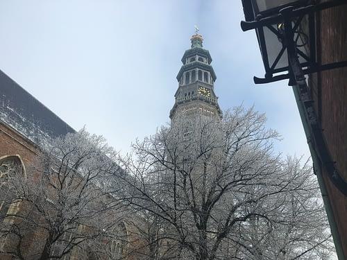 De binnenstad van Middelburg