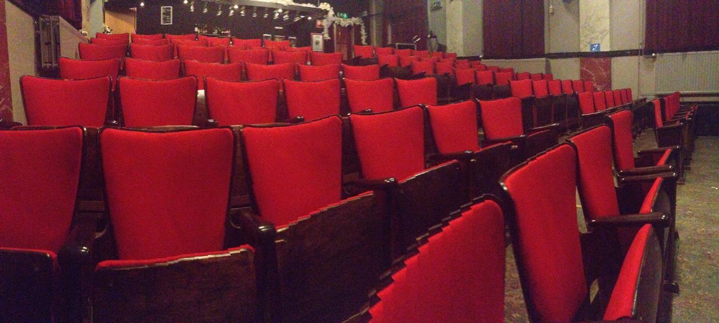 Het minitheater in Middelburg