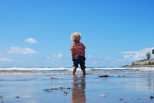 Stranden in Zeeland