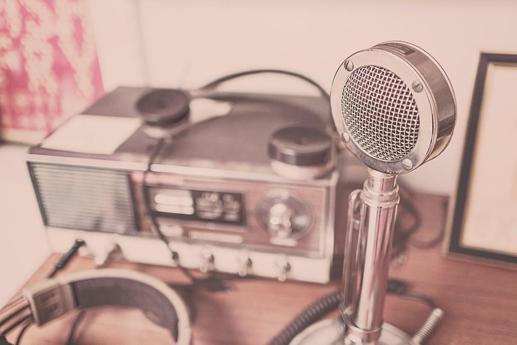 Vingage Microphone