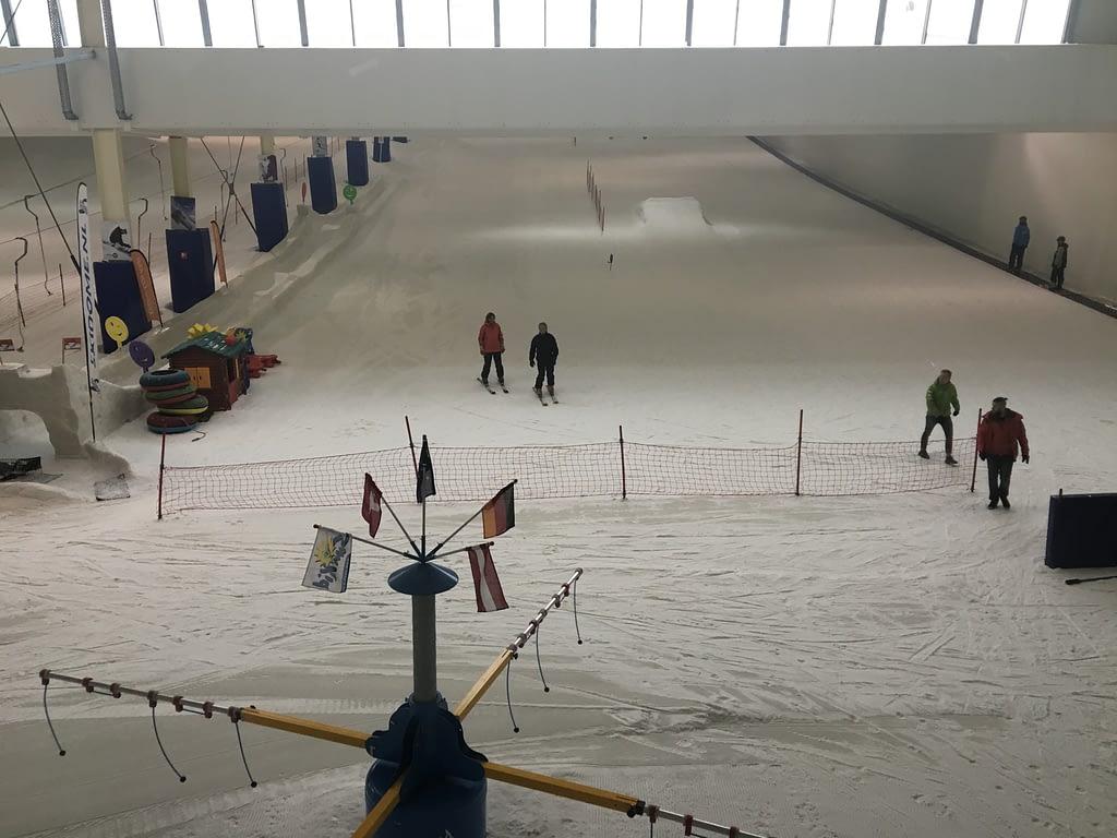 De skipiste Skidome in Terneuzen